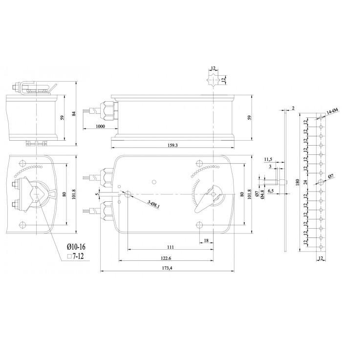 Электропривод BLE230-10