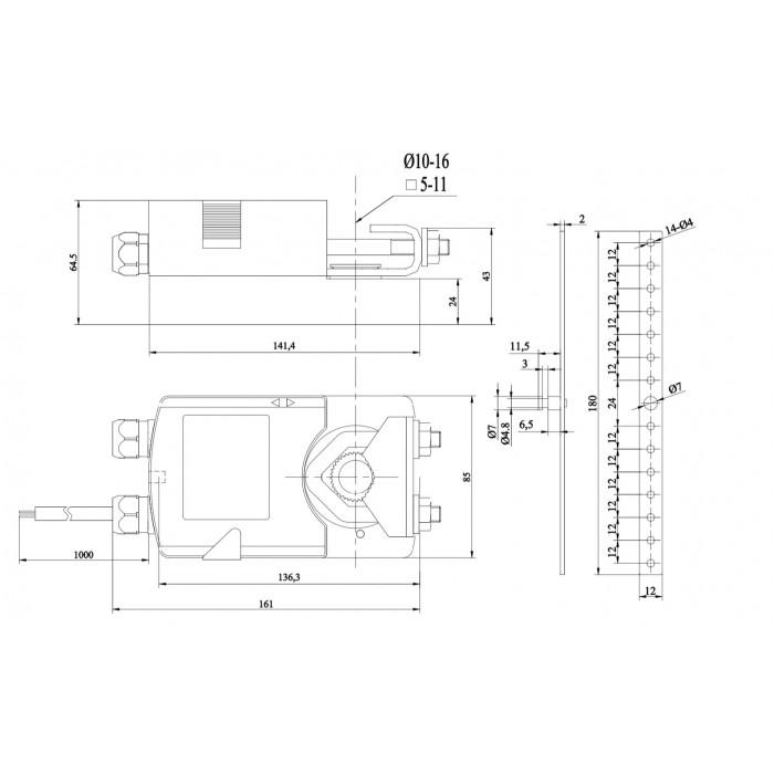 Электропривод NM24-10