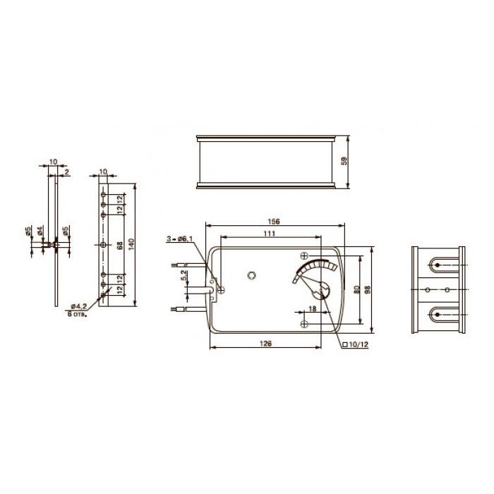Электропривод TAFA 2-05S